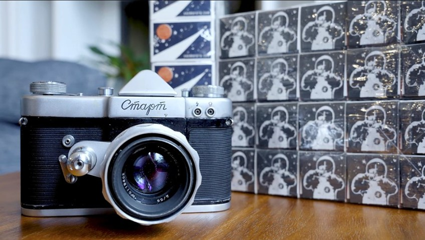 Film Friday: A look at one of the Soviet Union's first SLR cameras, the KMZ Start
