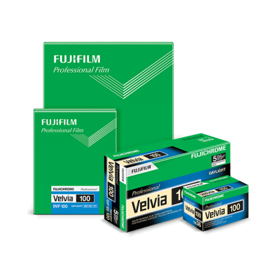 Fujifilm discontinues Velvia 100 in US after new EPA regulations