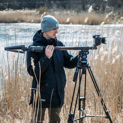 Gudsen updates Moza Slypod Pro electric monopod arm with longer reach, better battery