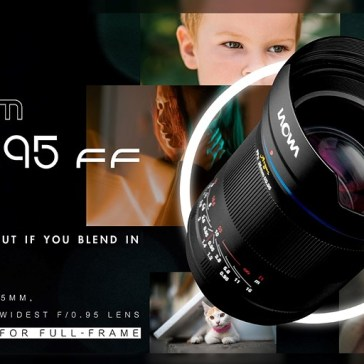 Venus Optics unveils $899 Laowa Argus 35mm F0.95, the world's fastest full-frame 35mm lens