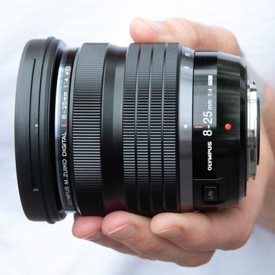 Olympus M.Zuiko 8-25mm F4.0 Pro field review
