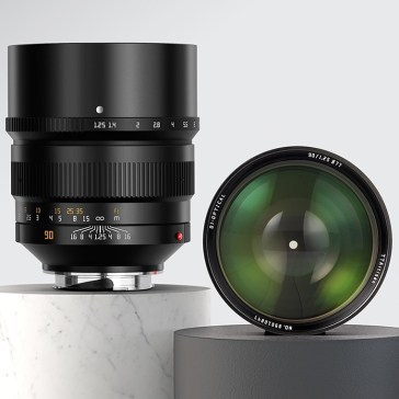 TTartisan releases $770 90mm F1.25 manual prime for Leica M-mount camera systems