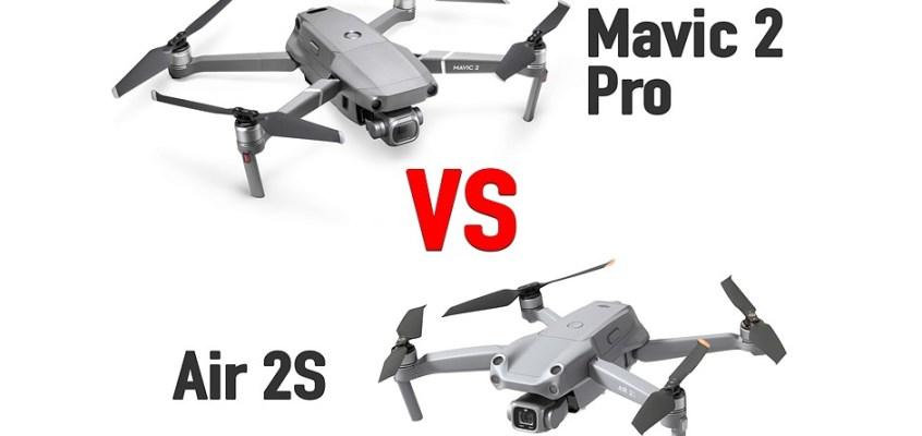 DJI Air 2S vs Mavic 2 Pro: which should you choose?