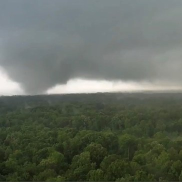 Video: Emmy-winning storm chaser has his drone sucked into a tornado while filming