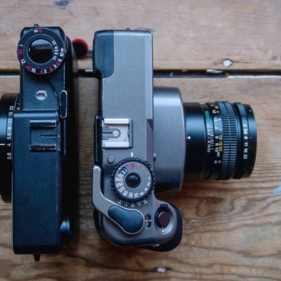 Film Fridays: battle of two Medium Format titans – Mamiya 7 vs. Makina 67