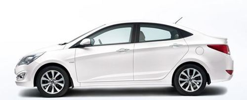 Verna Car In Pure White Colour View Specifications