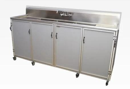 mke ss portable sink mehta kitchen