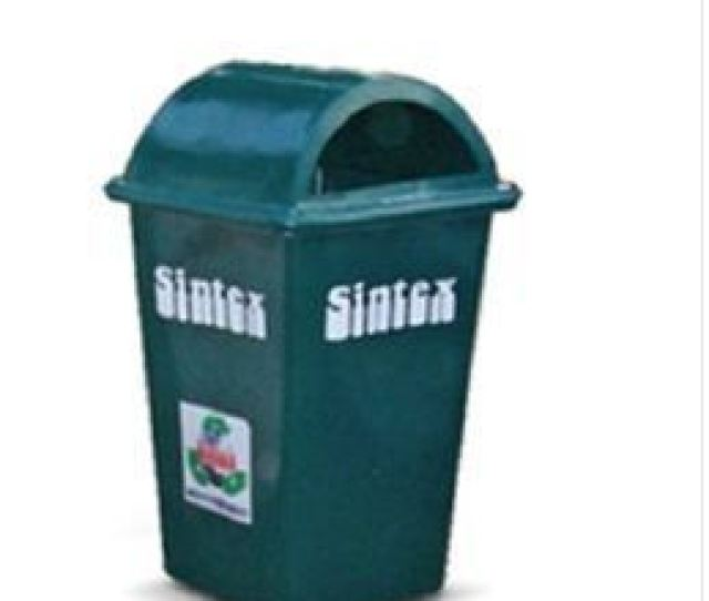 Sintex Waste Bins Rectangular Military Green  L