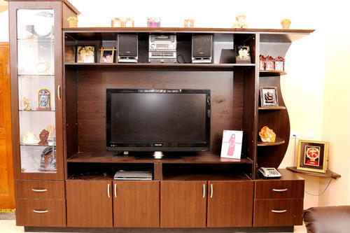 T V Showcase Wooden TV Showcase Architect Interior