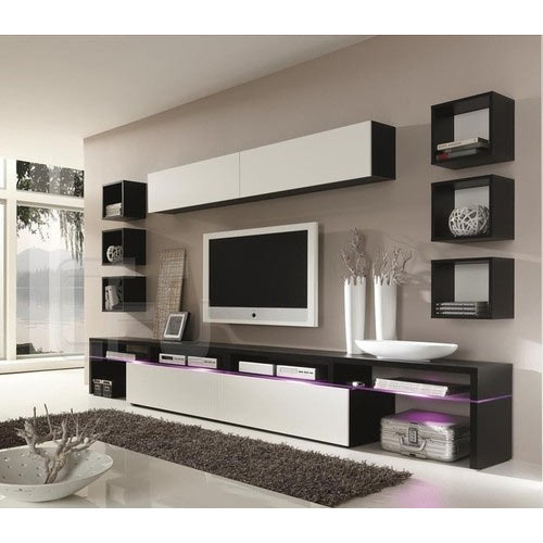 Wall Mounted Modern Tv Unit Rs 950 Square Feet Art Interior Decorators Id 13514219633