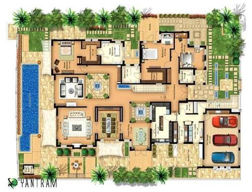 Architectural Layout Plan For