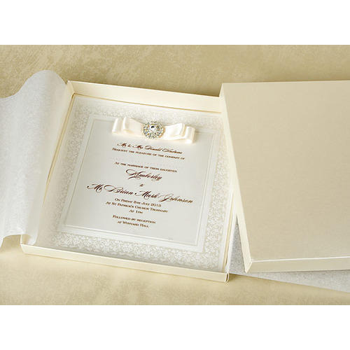 Luxury Wedding Invitation Card