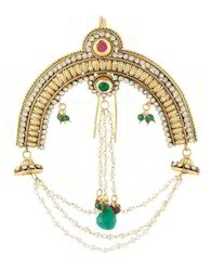 Traditional Hair Brooch Women Traditional Jewellery