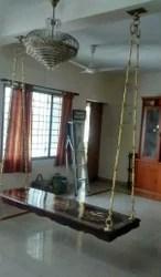 Indian Traditonal Swing Oonjal Wooden Swing Manufacturer