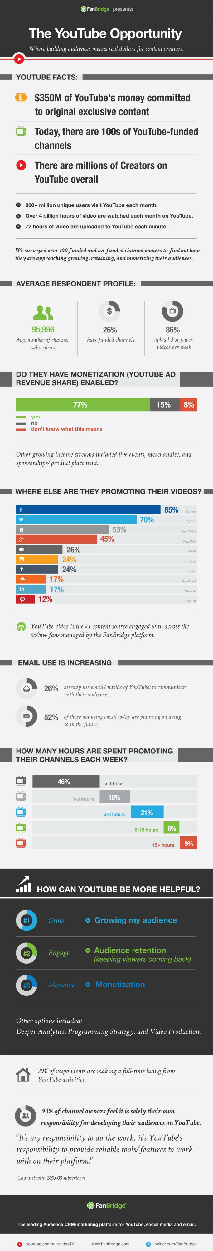 Infographic - Building YouTube Audiences