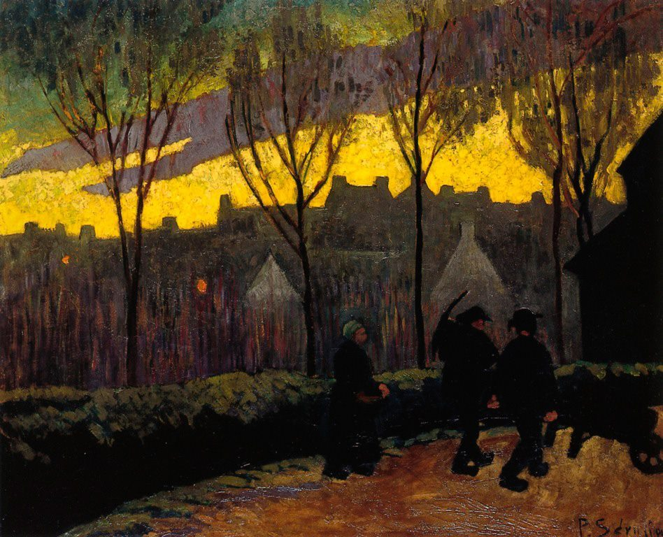 "Paul Serusier, ""Evening"", c.1906, oil/canvas, 60 x 72.7 cm, Private Collection"