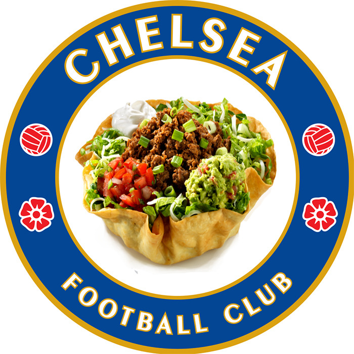 Chelsea Football Taco.