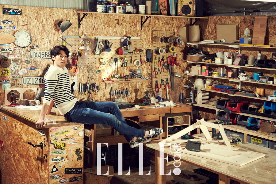 Lee Chun Hee - Elle Magazine March Issue '15