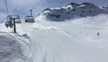Another end of ski season at Melchsee Frutt