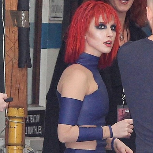 Hayley Williams of Paramore seen at