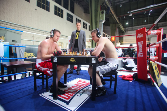 World's Wackiest Sport- Chess Boxing