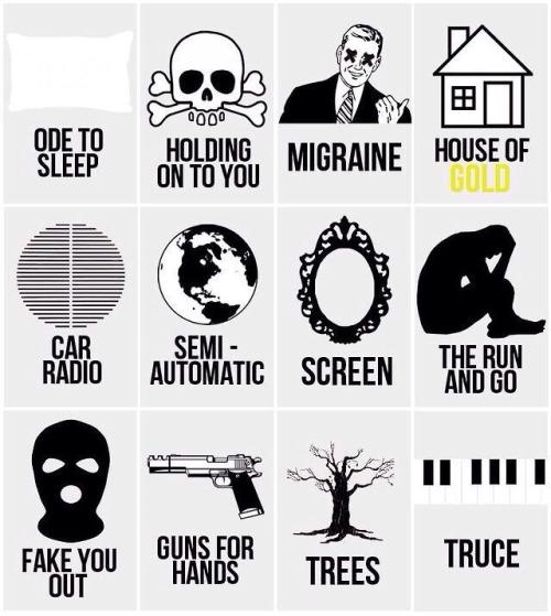 Migraine Twenty Tattoos One Pilots