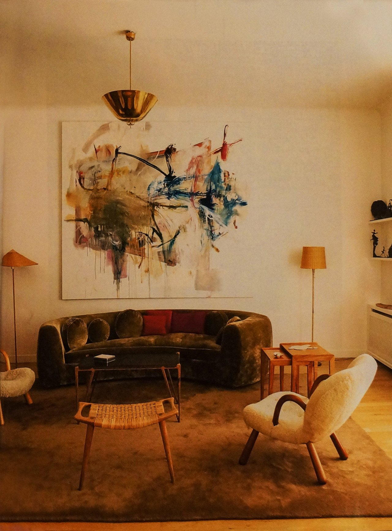 The Paris Apartment Of Gallery Owners Samia Saouma And Max
