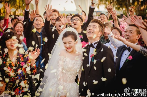 Wang Yuexin married to Wu Yating