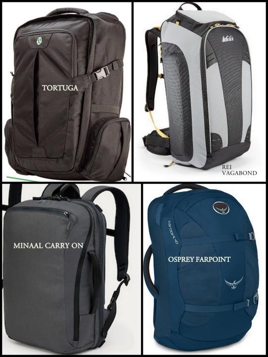 Good travel backpacks under 50 Litres