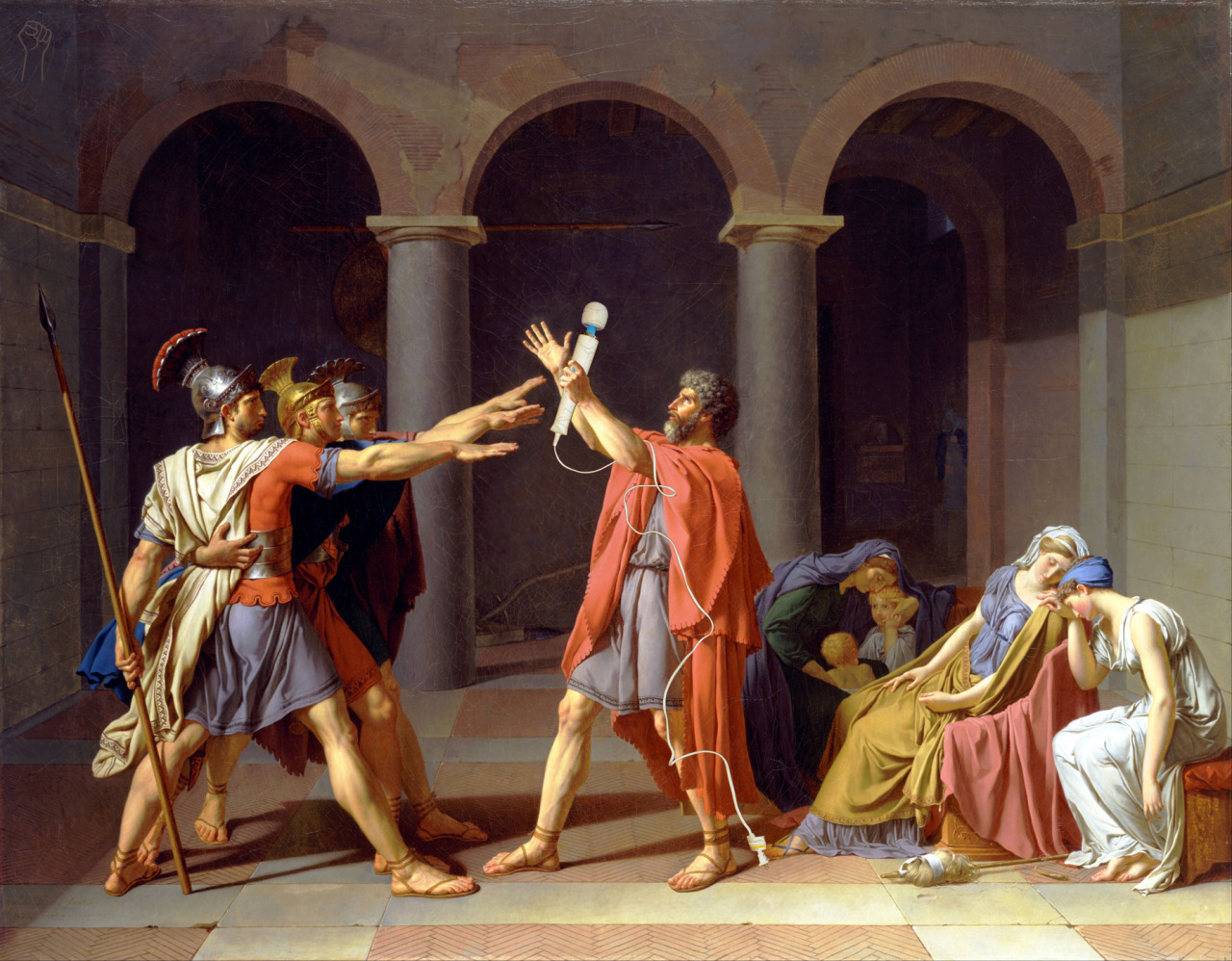 Oath of the Hitachi by Jacques-Louis-David.