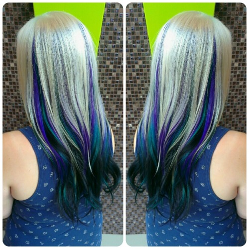 Turquoise Ombre Hair Tumblr