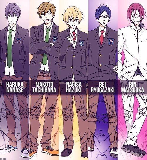 Anime Keren Terbaik Bergenre Renang