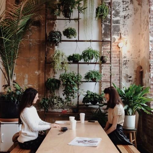 millercody:Coffee with @allieberman &amp;amp; @laurenjensen #vscocam<br /><p class=