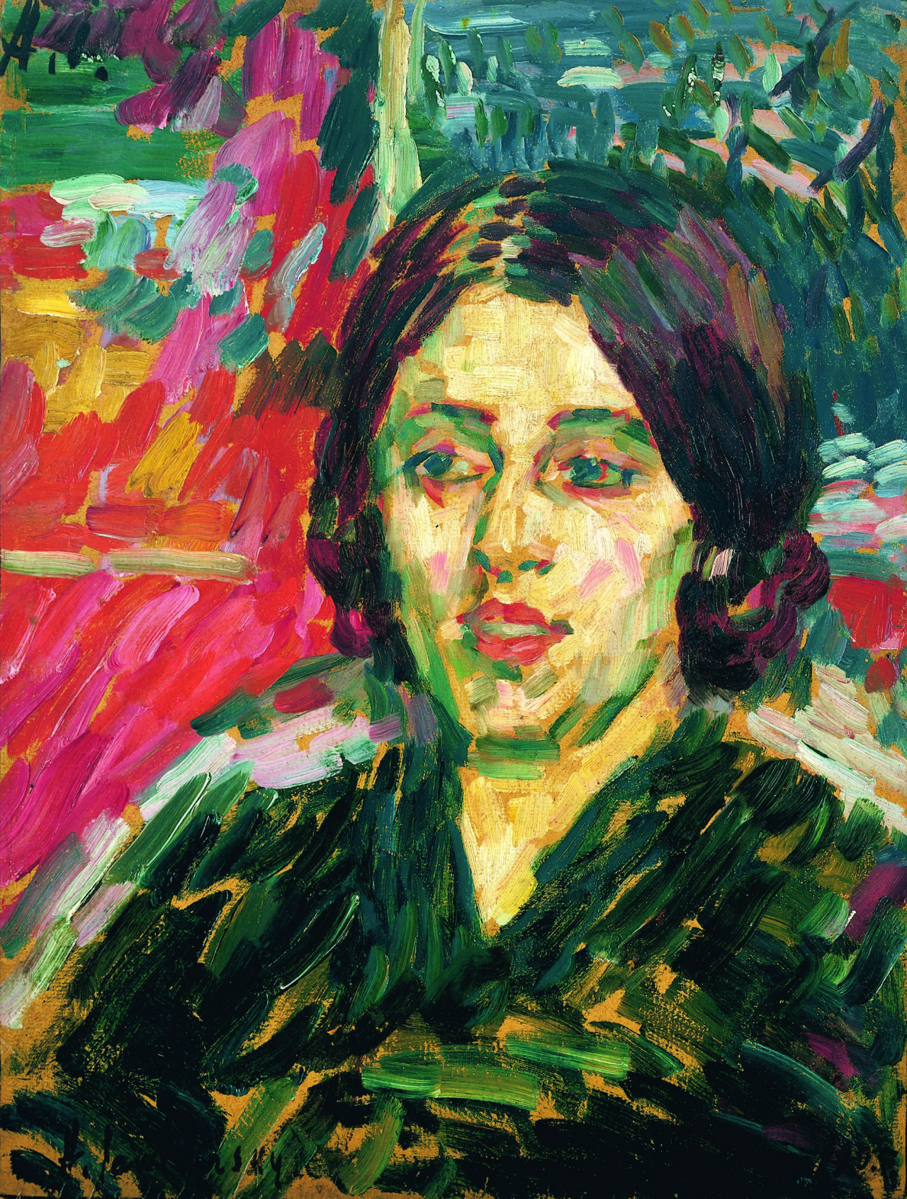 amare-habeo:  Alexej von Jawlensky (Russian-German, 1864-1941) Madame Curie I, 1905oil on canvas, 50 x 38
