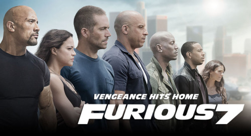 Furious 7Reviewed by Miranda BoyerI read a figure today that said 230 cars were harmed in the<br /><br /><br /> filming of Furious 7. I couldn't<br /><br /><br /> decide if it was an attempt at being facetious or not, but the number was still<br /><br /><br /> startling! Anyone who knows me well can testify to the fact that I've been a<br /><br /><br /> die-hard FF fan since the first film back in 2001. I'm a gal with a soft spot<br /><br /><br /> for fast cars and explosions. I swoon over the muscle…cars and I can't get<br /><br /><br /> enough.  Furious 7 was far<br /><br /><br /> from disappointing. I know there has been some talk about weather or not the<br /><br /><br /> film was actually good. As a FF fan myself, I have to say that it was among the<br /><br /><br /> best. I was glad to finely see reference to Tokyo Drift and even an appearance<br /><br /><br /> by Lucas Black. I think we officially know where Drift is in the lineup.<br /><br /><br /> Although I guess this means that we won't be seeing Han (Sung Kang) anymore. Han<br /><br /><br /> has always been second in my mind only to Dominic Toretto (Vin Diesel). Furious 7 had me<br /><br /><br /> saying, what was that gravity thing about again? There are more explosives and<br /><br /><br /> stunts then any FF movie before, taking 7 to a whole different level. This film<br /><br /><br /> will have you questioning everything you know about physics and I recommend just<br /><br /><br /> opening a window and letting it all go. Enjoy the ride (pun intended). On November 30, 2013 my heart broke. I've never held any<br /><br /><br /> special fascination with Paul Walker outside of these movies; in fact, I'd be<br /><br /><br /> hard pressed to name another film that he's in. But the chemistry between this<br /><br /><br /> particular group of actors, the relationships and family ties they've formed<br /><br /><br /> over the last near fifteen years while making this franchise pours out on<br /><br /><br /> screen; it always has. I was heart broken that I'd never see the whole team<br /><br /><br /> again. I guess that old saying is true, you never really know what you have<br /><br /><br /> until its gone. There is a lot of dialogue about family and loss that hits a<br /><br /><br /> note home in this film. The ending had a transition into a beautiful memorial<br /><br /><br /> for Paul Walker, and I couldn't help but get a little choked up. Despite this<br /><br /><br /> great loss, I have a feeling that that this isn't the end for this team. They<br /><br /><br /> still have a few miles to go yet.
