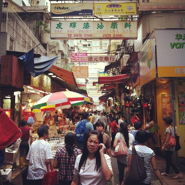 Sunday afternoon in Wan Chai, #hk