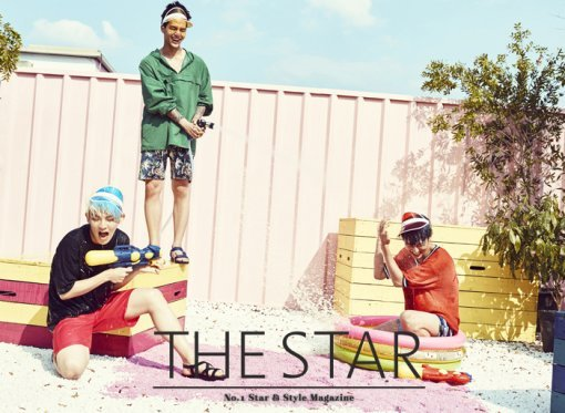 Teen Top - The Star Magazine August Issue '15