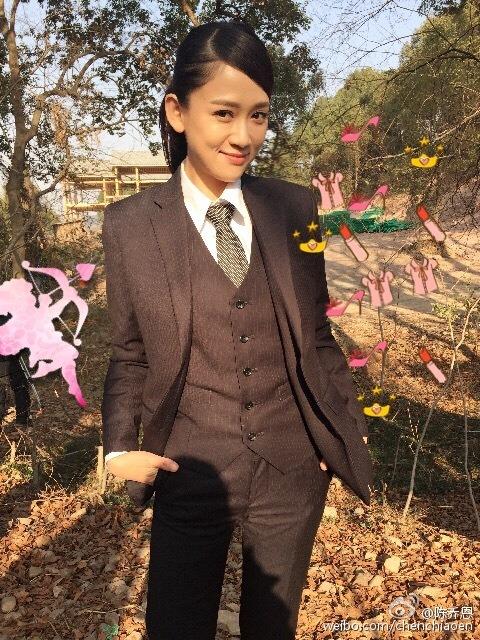 Chen Qiao'en talks about her husband