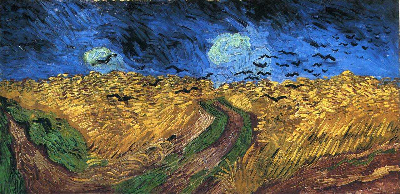 Wheatfield with Crows, 1890Vincent van Gogh