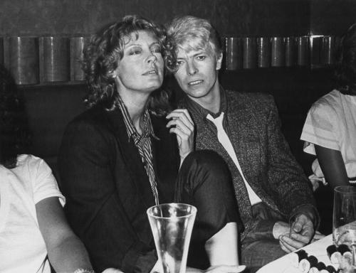Susan Sarandon and David Bowie