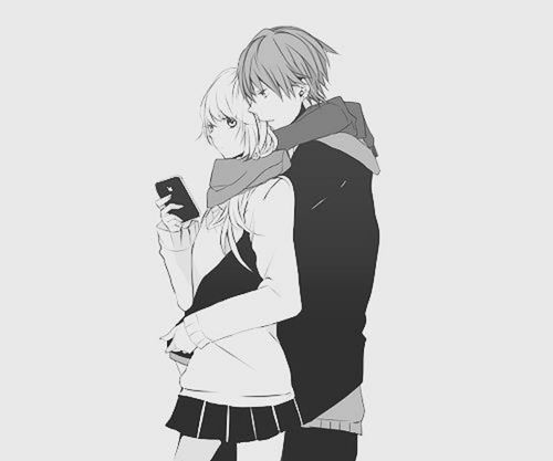 Anime Couple Hugging Tumblr   HD Desktop Wallpapers for Widescreen