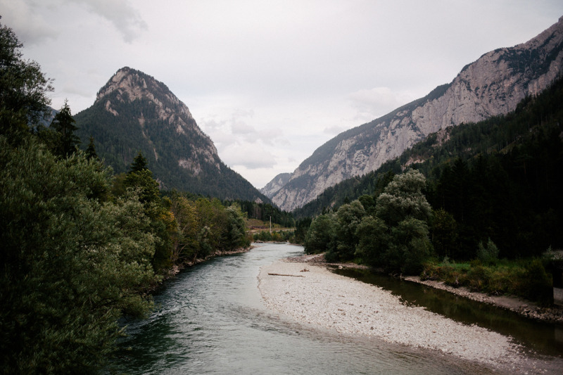 "Last month we were on the road from Germany to Croatia with stops in Austria, Slovenia and Italy. We stayed one night in the beautiful national park called ""Gesäuse"" before we drove to South Croatia."