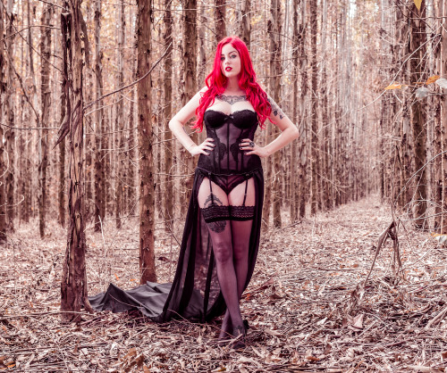 "brunabruce:  My set ""The Dark Fairy"" by Yogue Alencar for..."