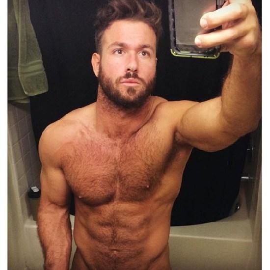 chad pelado no banheiro