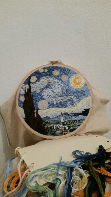 Lauren Spark Tumblr Starry Night Progress