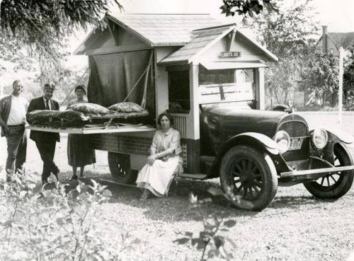 Trailer in Beamsville, 1925