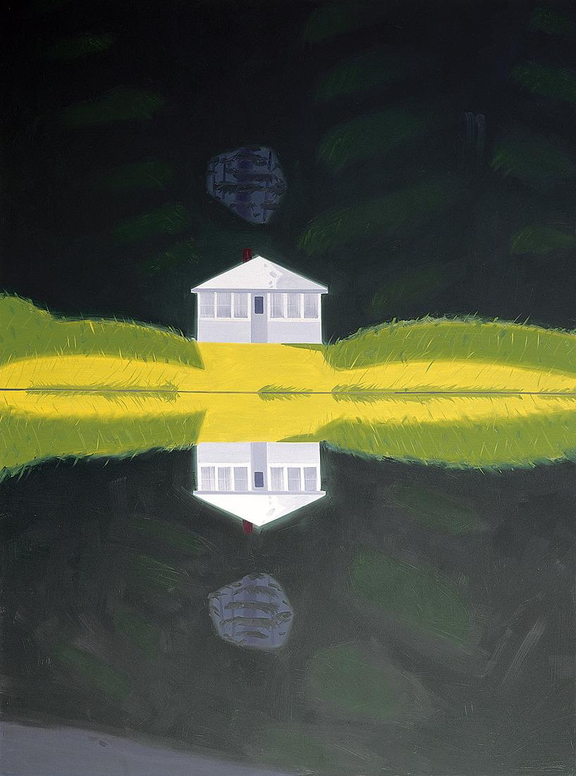 thunderstruck9:  Alex Katz (American, b. 1927), Reflection III, 1992. Oil on canvas, 320 x 244 cm. Museum Frieder Burda, Baden-Baden.