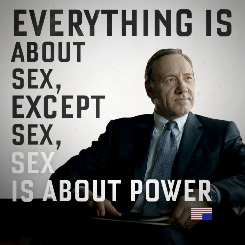 Image result for frank underwood power