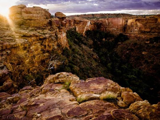 canyon at sunrise
