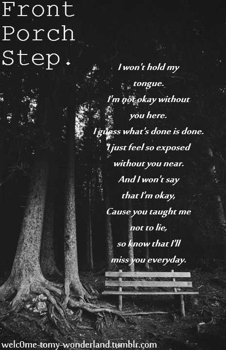 I Wont Say Im Okay Front Porch Step Chords